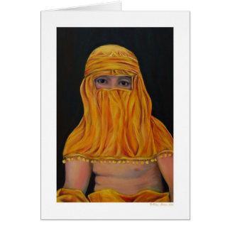 Bougeareau in a Burka Card