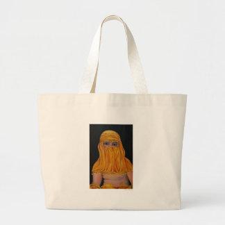 Bougeareau in a Burka Large Tote Bag