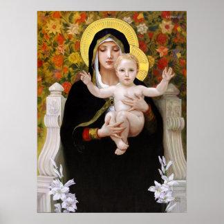 Bougeureau au Lys de Vierge del La Poster