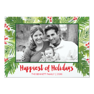 Boughntiful Holiday Photo Card