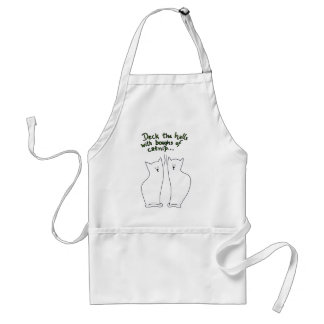 Boughs of Catnip Apron (customizable)