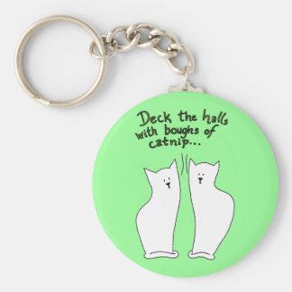 Boughs of Catnip Keychain (customizable)