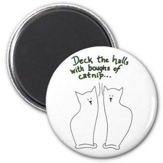 Boughs of Catnip Magnet 2 (customizable)