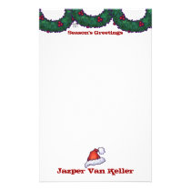 Boughs of Holly Stationery