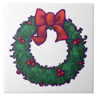Boughs of Holly Tile