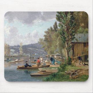 Bougival, 1873 mouse pad