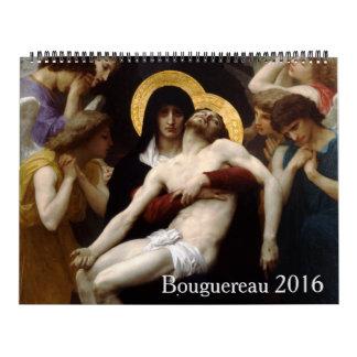 Bouguereau 2016 Large Calendar