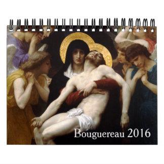 Bouguereau 2016 Small Calendar