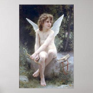 Bouguereau - Amour a l'Affut Poster