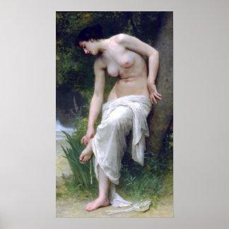 Bouguereau - Apres Le Bain Print