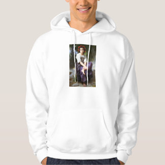 Bouguereau At The Edge of the Brook Hoodie