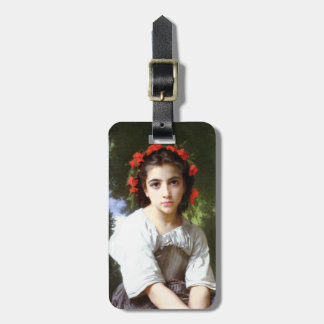 Bouguereau At The Edge of the Brook Luggage Tag