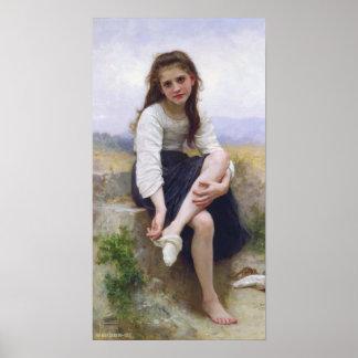 Bouguereau - Avant le Bain Poster