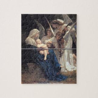 Bouguereau - canción de los ángeles lg puzzles con fotos