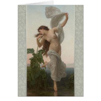 Bouguereau Dawn L'Aurore CC0873 Birthday Card