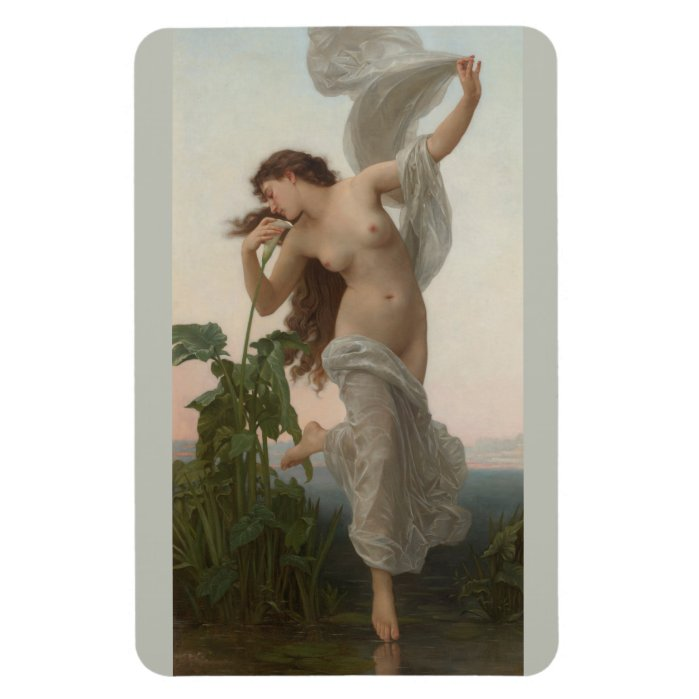 Bouguereau Dawn L'Aurore CC0876 Fridge art Magnet