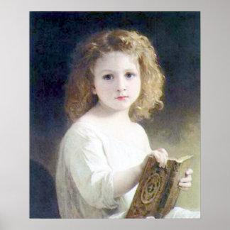 Bouguereau - fábulas de Le Livre de Póster