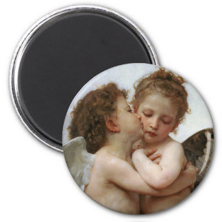 "Bouguereau, ""First kiss"" Magnet"