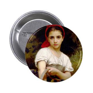 Bouguereau Harvester button