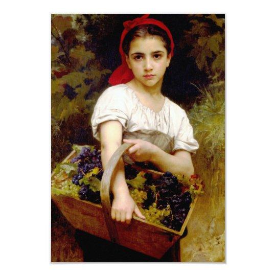 Bouguereau Harvester Invitations