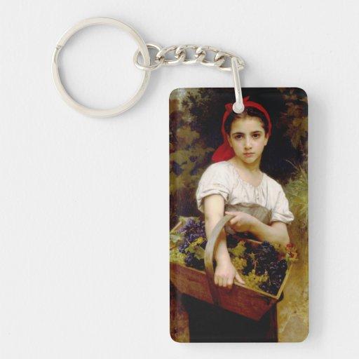 Bouguereau Harvester Key Chain