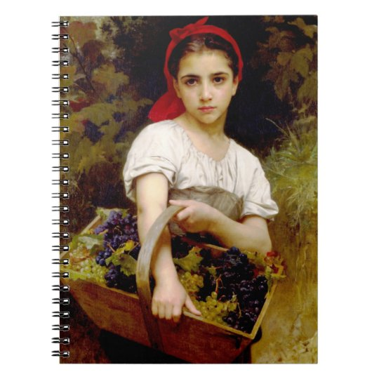 Bouguereau Harvester Notebook