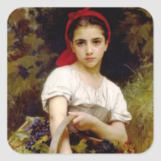 Bouguereau Harvester Stickers