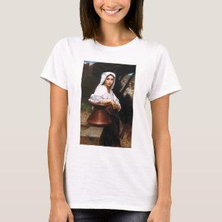 Bouguereau Italian Girl Drawing Water T-shirt
