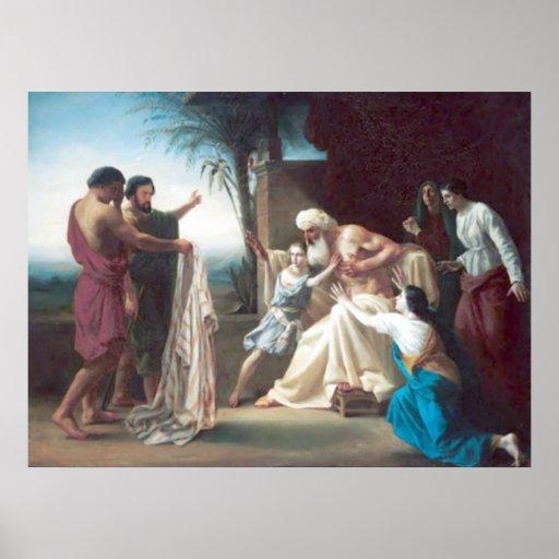 Bouguereau - Jacob Recevant le Tunique de son Fils Poster
