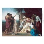 Bouguereau - Jacob Recevant le Tunique de son Fils Card
