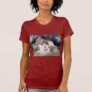 Bouguereau - Jeune Femme Contemplant Deux Enfants T-Shirt