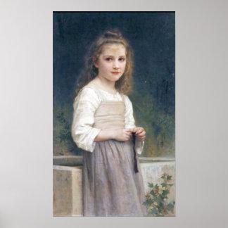 Bouguereau - L Innocence Poster
