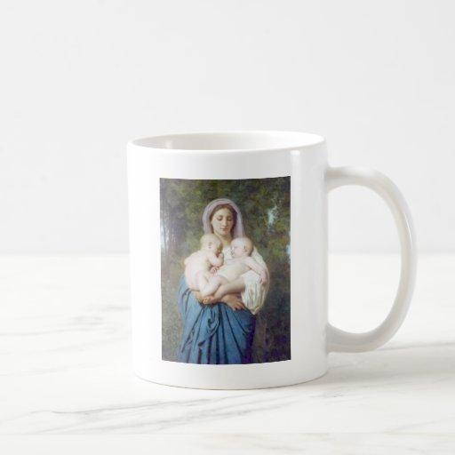 Bouguereau - La Charité Classic White Coffee Mug