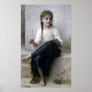 Bouguereau - La Couturiere Póster