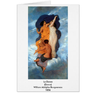 Bouguereau - La Danse Card