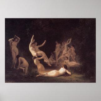 Bouguereau - La Nymphee Impresiones