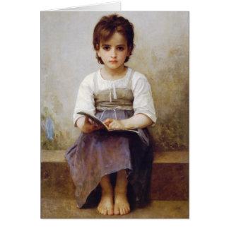 Bouguereau la tarjeta de felicitación de la lecció