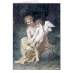 Bouguereau - L'Amour Blessé Tarjetón