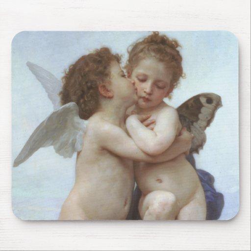 Bouguereau - L'Amour et Psyché, Enfants Mousepads