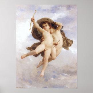 Bouguereau - L'Amour Vainqueur Print