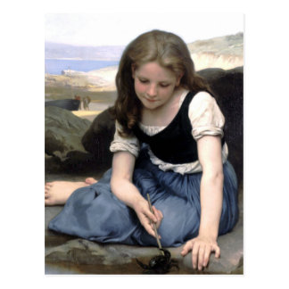 Bouguereau - Le Crabe Postcards