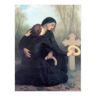 Bouguereau - Le Jour des Morts Postcard
