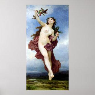 Bouguereau - Le Jour Impresiones