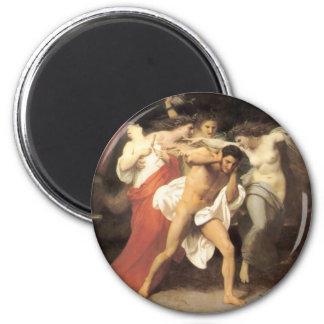Bouguereau - Les Remords d'Oreste Magnets