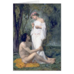 Bouguereau -L'Idylle Greeting Card