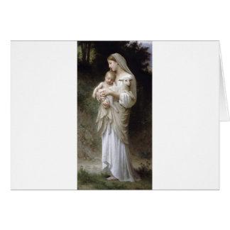 Bouguereau-Linnocence Tarjeta De Felicitación