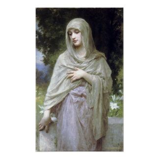 Bouguereau - Modestie Impresiones