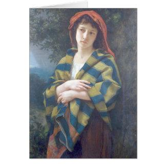Bouguereau - Pendant l'Orage Greeting Card