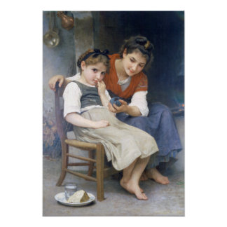 Bouguereau - Petite Boudeuse Poster