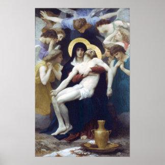 Bouguereau - Pietà Póster